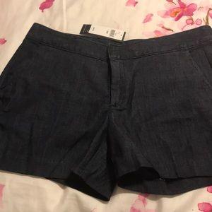 Banana Republic Dark indigo shorts